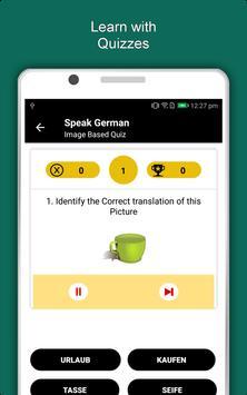 Speak German : Learn German Language Offline screenshot 10