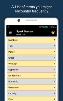Speak German : Learn German Language Offline screenshot 15