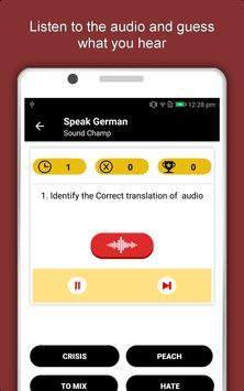 Speak German : Learn German Language Offline screenshot 19
