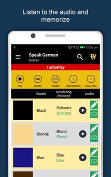 Speak German : Learn German Language Offline screenshot 9