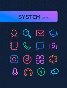 Linebit - Icon Pack 截图 2