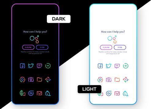 Linebit - Icon Pack 截图 7