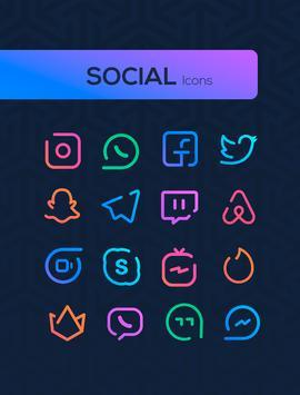 Linebit - Icon Pack 截图 4