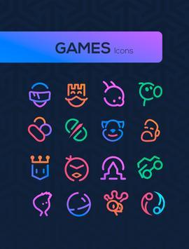 Linebit - Icon Pack 截图 5