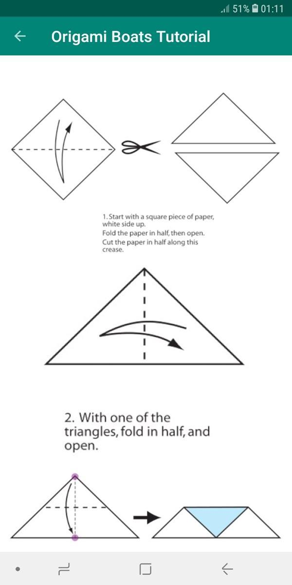 how to make a origami boat | Images For Studyng HD | 1200x600