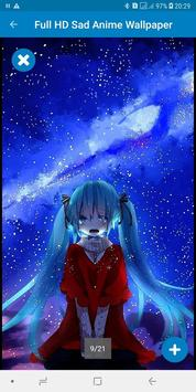 Full HD Sad Anime Wallpaper screenshot 3