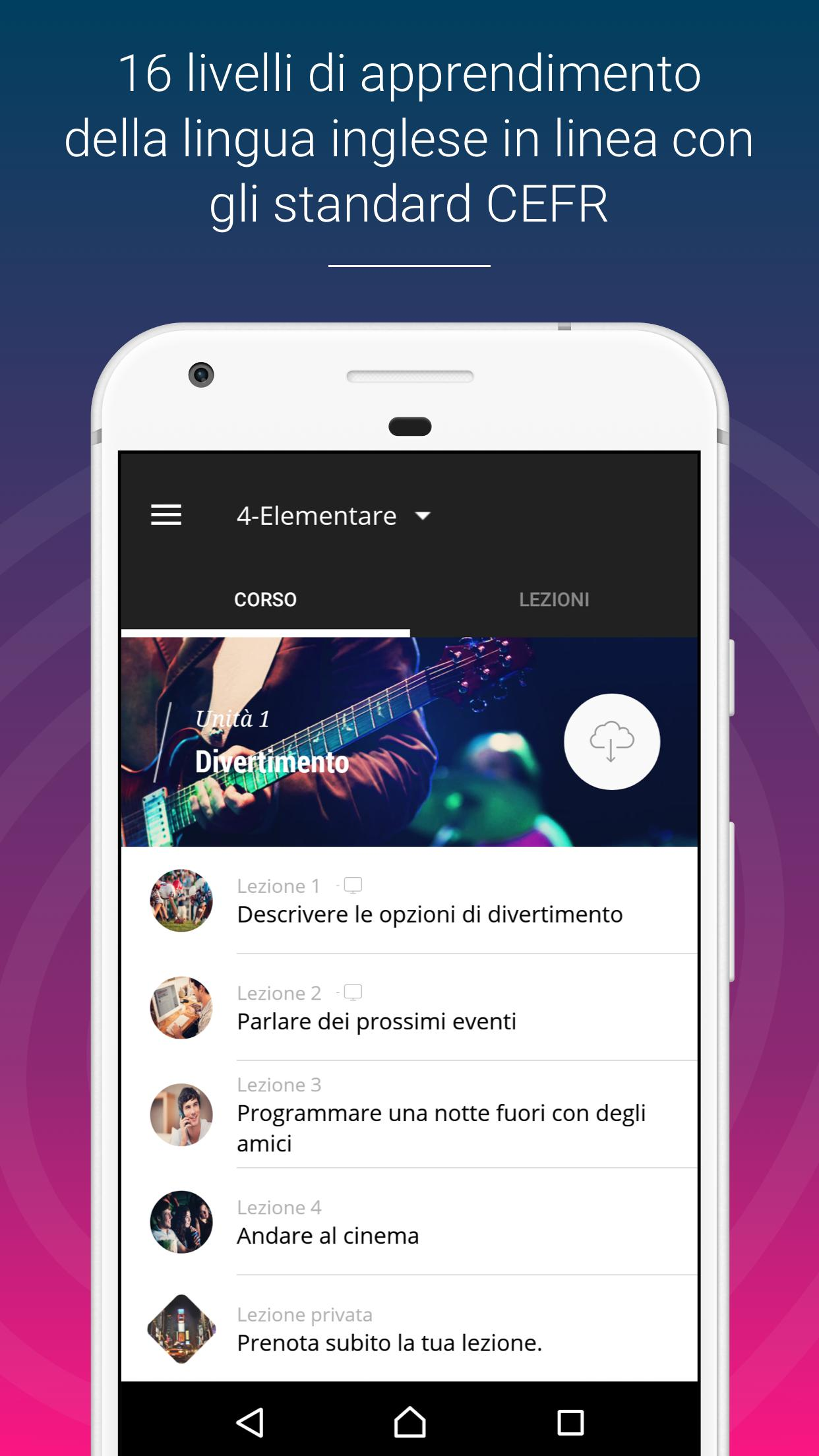Corso Inglese Ef English Live For Android Apk Download