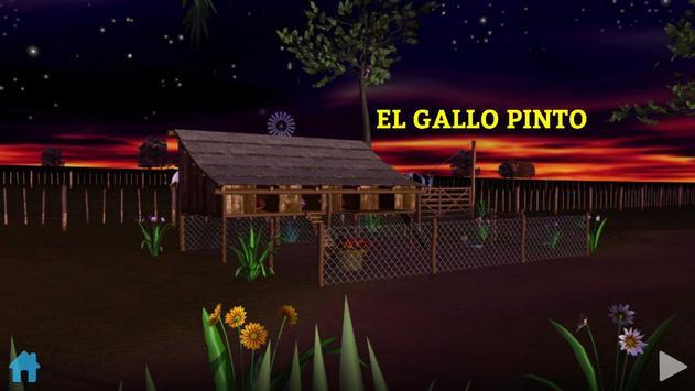 El Gallo Pinto Cuento Infantil 截圖 1