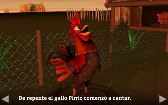 El Gallo Pinto Cuento Infantil captura de pantalla 6