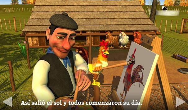 El Gallo Pinto Cuento Infantil captura de pantalla 7