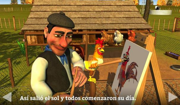 El Gallo Pinto Cuento Infantil screenshot 7