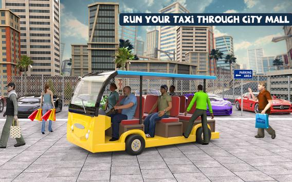Shopping Mall Radio Taxi Driving: Supermarket Game screenshot 6