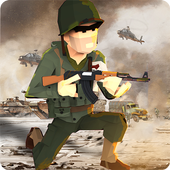 WW2 Military Commando Survival Hero: War Games icon