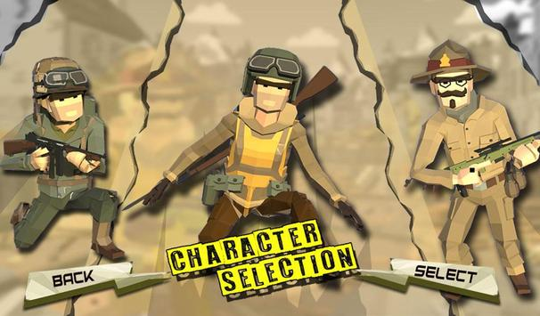 WW2 Military Commando Survival Hero: War Games screenshot 1