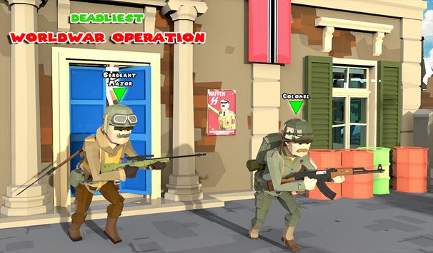 WW2 Military Commando Survival Hero: War Games screenshot 2