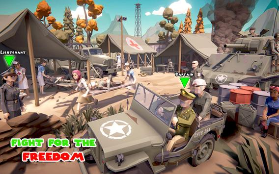 WW2 Military Commando Survival Hero: War Games screenshot 4
