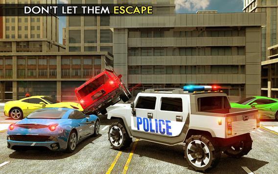 Elevated Police Smart Car Driving: Traffic Rush screenshot 4