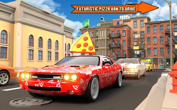 Pizza Delivery Boy: City Bike Driving Games screenshot 1