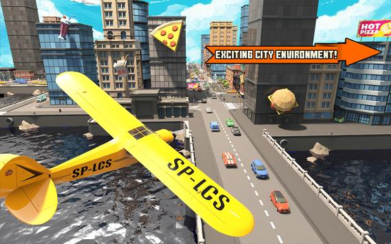 Pizza Delivery Boy: City Bike Driving Games screenshot 7