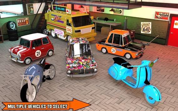 Pizza Delivery Boy: City Bike Driving Games screenshot 5