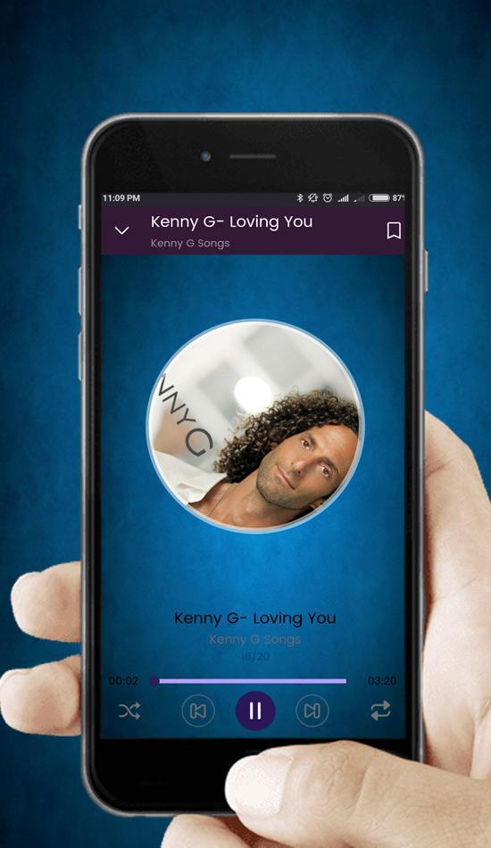 Kenny G - Best Romance Saxophone Instrumental for Android