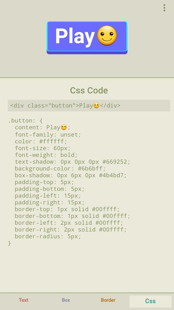 CSS Button Generator for Android - APK Download