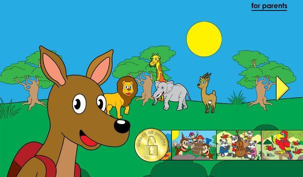 Jeux animaux pour les enfants capture d'écran 16
