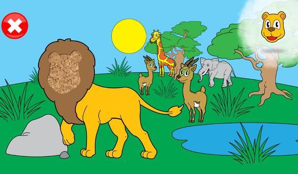 Jeux animaux pour les enfants capture d'écran 17