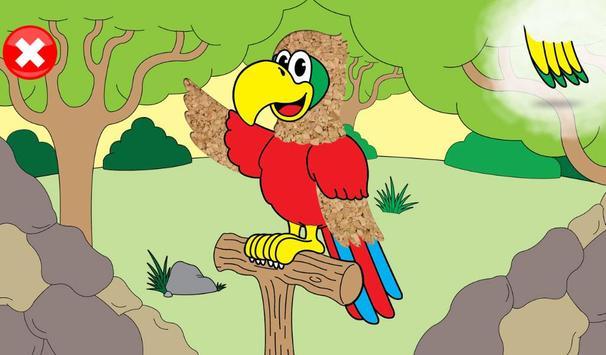 Jeux animaux pour les enfants capture d'écran 19
