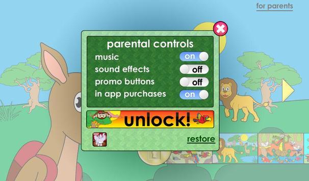 Jeux animaux pour les enfants capture d'écran 20