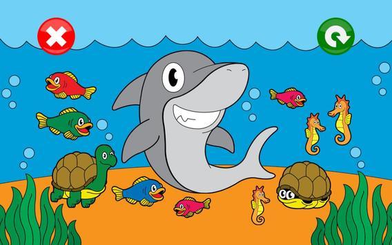 Jeux animaux pour les enfants capture d'écran 3