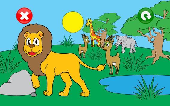 Jeux animaux pour les enfants capture d'écran 4