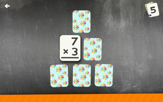 Multiplication Flash Cards Games Fun Math Practice screenshot 17