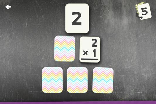 Multiplication Flash Cards Games Fun Math Practice screenshot 1