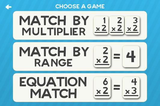 Multiplication Flash Cards Games Fun Math Practice screenshot 2