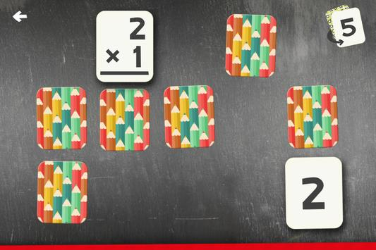 Multiplication Flash Cards Games Fun Math Practice screenshot 7