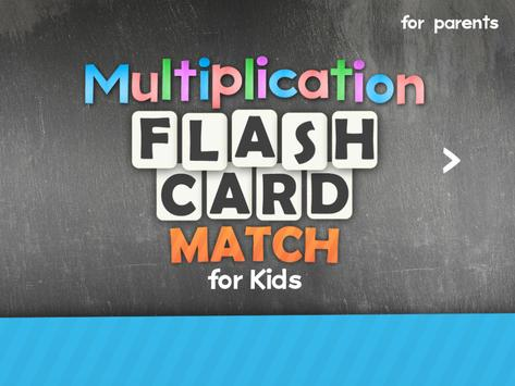 Multiplication Flash Cards Games Fun Math Practice screenshot 8