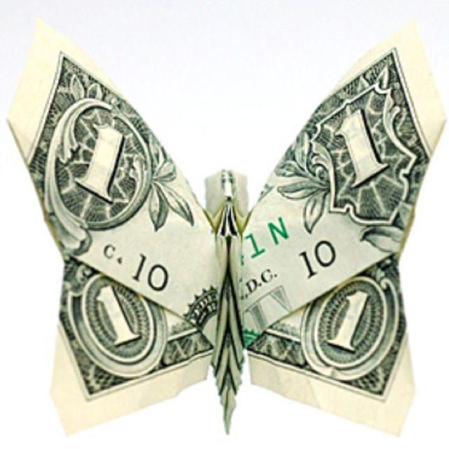 21 Origami Money Ideas - Cash Gifts In The Form Of Art | 640x640