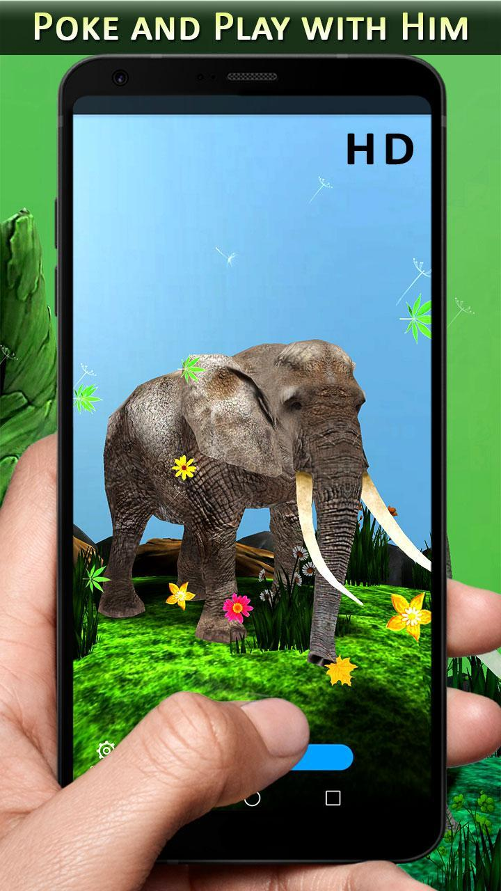 3d Elephant Wallpapers Free Animal Backgrounds Hd For Android