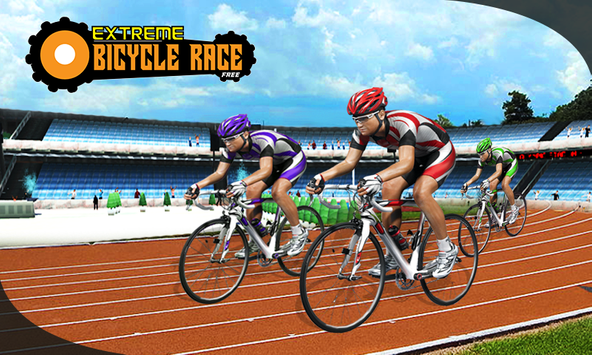 BMX Extreme Bicycle Race poster