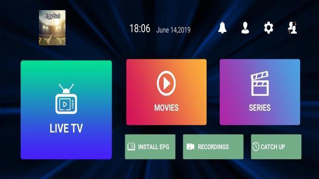 EgySat IPTV screenshot 2
