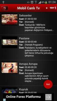 Mobil Canlı Tv Ekran Görüntüsü 4