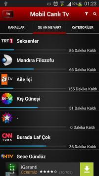 Mobil Canlı Tv Ekran Görüntüsü 2