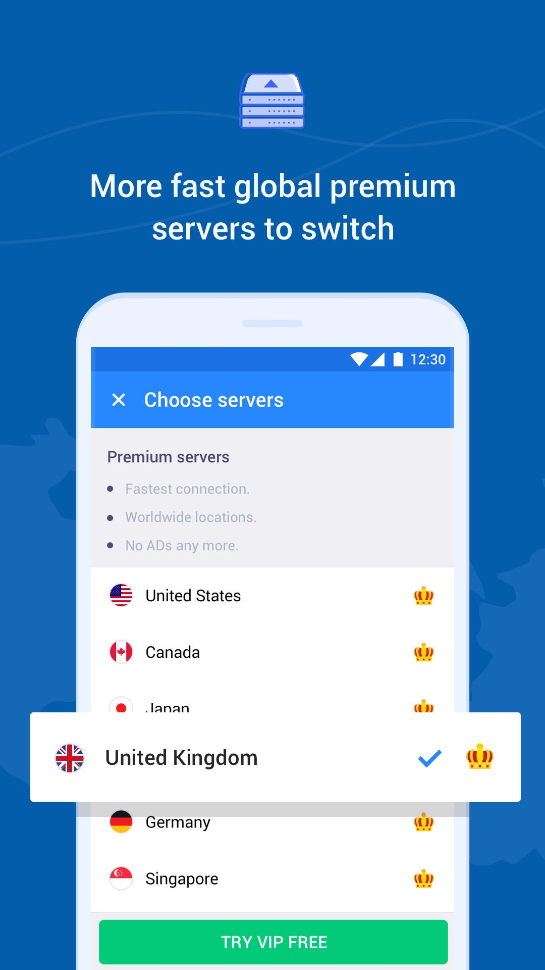 Hi VPN, Free VPN – Fast, Secure and Unlimited VPN for