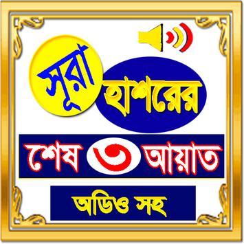 সূরা হাশরের শেষ তিন আয়াত (অফলাইন অডিও) poster