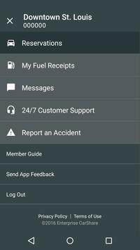 Enterprise CarShare Screenshot 4