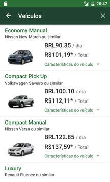 National Car Rental imagem de tela 3