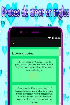 poems in english - poems of love for free screenshot 1