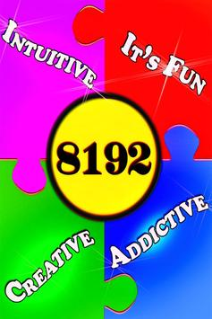 8192 - Free Puzzle Game! poster