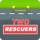Two Rescuers - Rescue Challenge icon